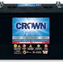 Crown battery 2 black